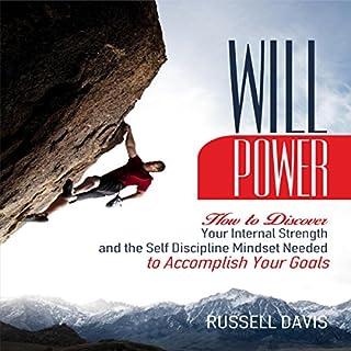 Willpower audiobook cover art