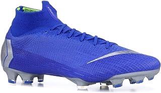 e955452d3f48 Amazon.com | Nike Mercurial Superfly VI 6 Elite FG AH7365-400 Racer Blue/Silver  Men's Soccer Cleats (8) | Soccer