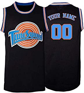 Guirenco Custom Movie Jersey Space Jam Tune Squad Personalized Design Your Name Number Basketball Jerseys