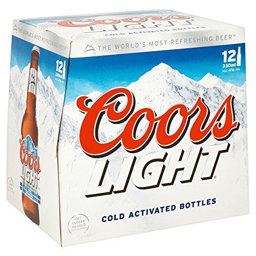 Coors Light Beer 12x330ml 4%Vol