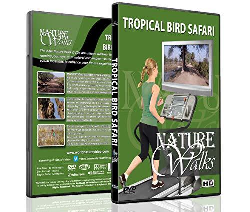 Natur Spaziergänge DVD - Tropische Vogel Safari - für Indoor Spaziergänge, Laufband and Jogging Workouts