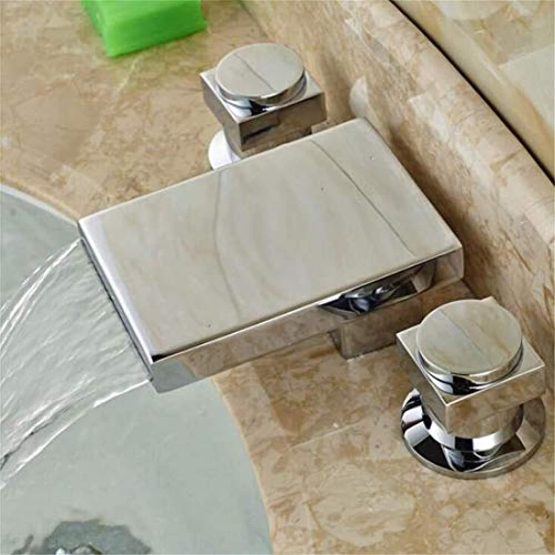 Wasserhahn Küche Bad Garten Waschtisch-Mischbatterie Waschbecken Wasserfall Mischbatterie Ctzl2124