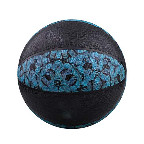 Check Out This MONYING Basketball Indoor and Outdoor Cement Cowhide Leather Hand-Wearing Basketball ...