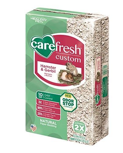 Carefresh Custom Hamster/Gerbil Pet Bedding, 30 L, Natural
