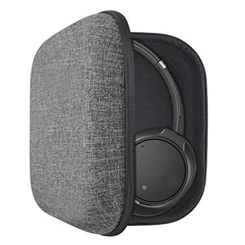 Geekria Funda para Auriculares Sony WH-CH710N, WH-CH700N, WH-1000XM3, WH1000XM2, MDR-XB950B1, XB950N1 Headphones, Viaje Bolsa