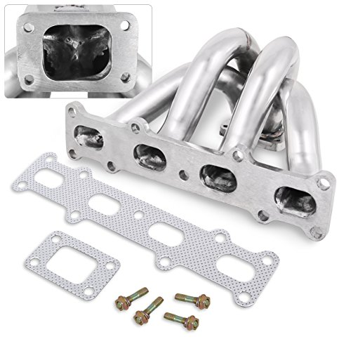 Mazda Miata Mx5 1.8L T2 T25 T28 Stainless Steel Exhaust Header Turbo Manifold