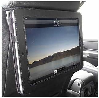 iTALKonline PADWEAR EJECUTIVO NEGRO Monedero Funda FLIP con reposacabezas de coches en Mount / soporte para Apple iPad 2 (2011) 2nd generation iPad 3