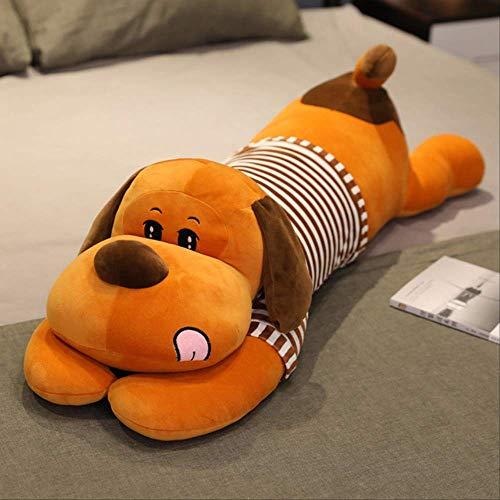 TDDXS Plush toys Beautiful Dog Soft Padded Cartoon Animal Dog Doll Long Sleep Pillow Cushion Baby Child Girl Gift 130Cm C