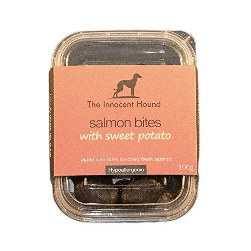 The Innocent Hound Bites Hunde Snacks (Einheitsgröße) (Lachs/Süßkartoffel)