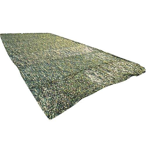 GGYMEI-Sichtschutznetz Sonnensegel Sonnenschutzmittel Outdoor-Erweiterung Live-Action-CS-Veranstaltungsort Schattennetz Oxford-Tuch, 8 Größen (Farbe : Grün, größe : 5x6m)