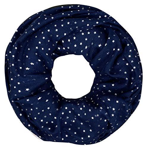 PiriModa XXL dames sjaal luxe glitter patroon veer halsdoek slangsjaal loopsjaal ronde sjaal