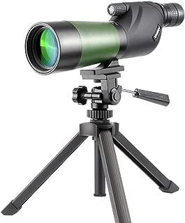Gosky 20-60X60 Waterproof Spotting Scope- Porro Prism Spotting Scope for Bird Watching Target Shooting Archery Range Outdoor Activities