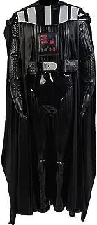 Men's Halloween Black Officer Uniform Outfit for Darth Vader Costume
