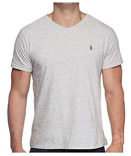 Polo Ralph Lauren – T-shirt classique pour homme avec col en V en jersey de coton – Différentes...