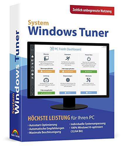 Preisvergleich Produktbild Windows Tuner - Zeitlich unbegrenzte Nutzung Windows 10 / 8.1 / 7 / Vista