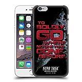 Head Case Designs sous Licence Officielle Star Trek to Boldy Go Mirror Universe TNG Coque Dure pour l'arrière Compatible avec Apple iPhone 6 / iPhone 6s