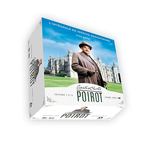 Hercule Poirot-L'intégrale des Saisons 1 à 13
