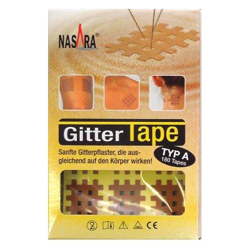 Nasara Typ A, Gitter Tape, 180 Stück