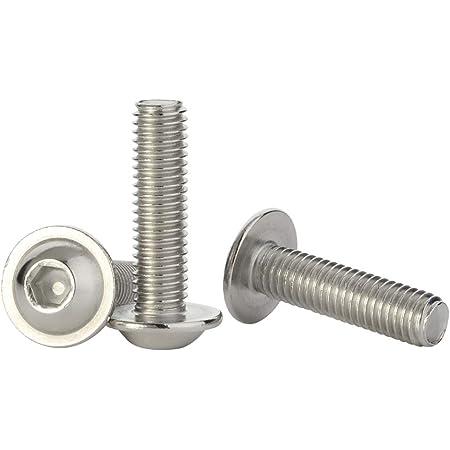 304 Stainless Steel Button Head Screw 10 pcs 3mm M3 Pan Head Socket Bolts