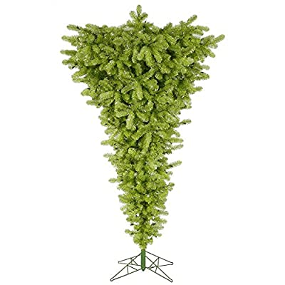 Vickerman Unlit Lime Upside Down Artificial Christmas Tree