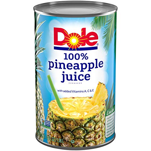 DOLE 100% Pineapple Juice 46 fl. Oz Can