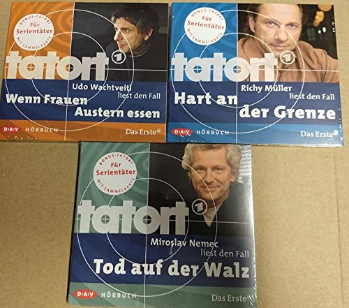 3x Tatort Hörbuch CD (Wachtveitl, Müller, Nemec) Krimi