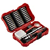 Lichamp Precision Ratchet Screwdriver and Bits Set, 31 Piece Home Household Mini Hand Tool Ratcheting Professional Magnetic Repair Tool Driver Kit with Plastic Toolbox Storage Case (8206)