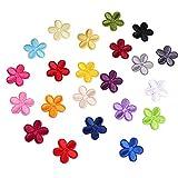 23 aufbügelflicken,THETAG Mini Sun Flower Bestickte Patches zum Aufbügeln mit Hitze oder Patches Zum Aufbügeln Oder Nähen Patches Sticker DIY Kleidung Patches