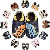scarpe neonato scarpine in pelle prima infanzia scarpine primi passi morbida pelle scarpine prima infanzia suola scamosciata