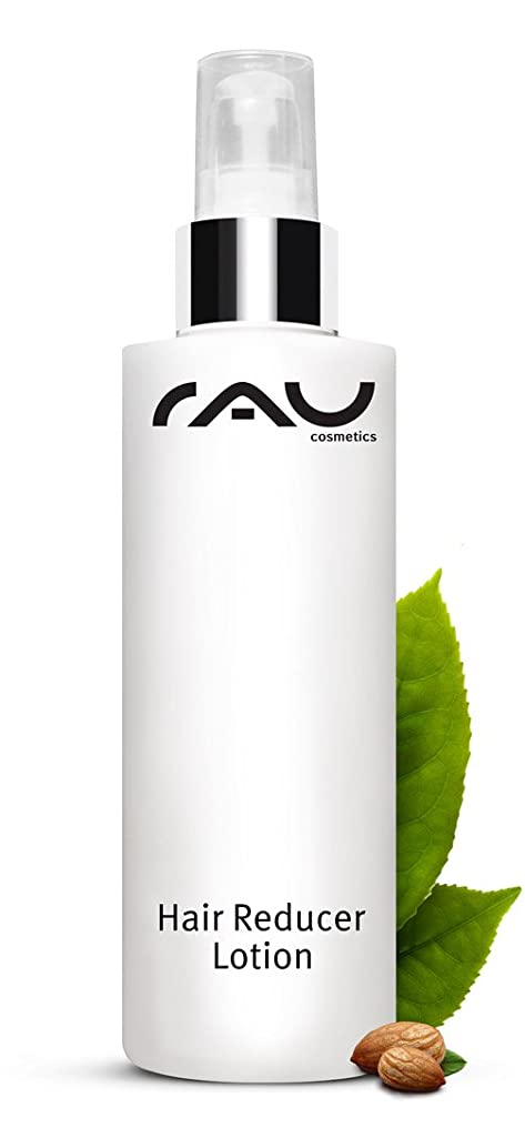 RAU Hair Reducer Lotion (200 ml / 6.8 oz.) - Hair Growth Reducing and Moisturizing Lotion with Almond Oil, Aloe Vera, White Tea and Cranberry Extract