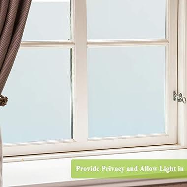 Privacy Window Film and Total Blackout Window Film Bundle