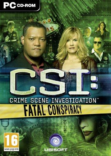 CSI: Fatal Conspiracy (PC DVD) [Importación inglesa]