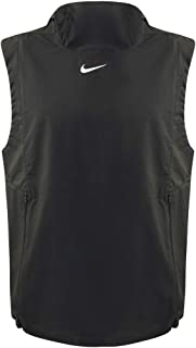 Nike Men's Alpha Fly Rush Hooded Training Vest (Black, Medium)