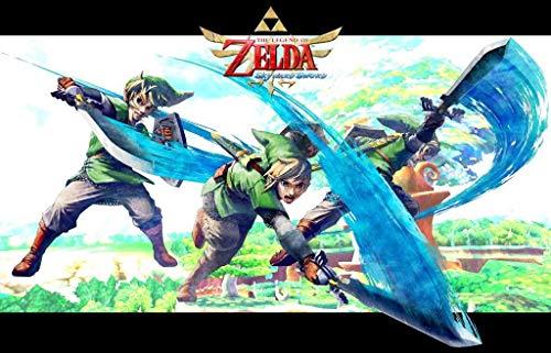 Zelda Skyward Sword - Video Game Wall Poster - 43.2 x 60.7cm Größe Grösse Filmplakat PS3 360 Nintendo WII