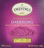 Twinings of London Darjeeling Tea Bags, 50 count box