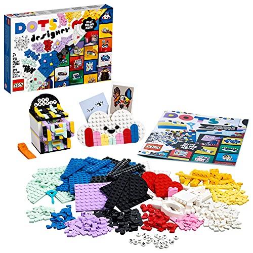 LEGO 41938 DOTS Ultimatives Designer-Set mit Kinderzimmer-Deko zum selber Bauen, Bastelset mit Stiftehalter, Schreibtisch-Organizer und vielem mehr