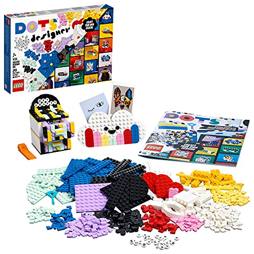 LEGO 41938 Dots Caja de Diseños Creativos, Organizador de Escritorio con Cajones, Marco...