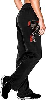 MEGGE Women's The Magnificent Seven Comfortable Athletic Lounge Pant Black