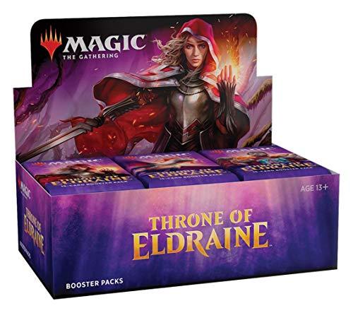 Magic The Gathering - Throne of Eldraine - Boosters / Displays Auswahl   English   Sammelkartenspiel TCG, Booster:36er (Display)