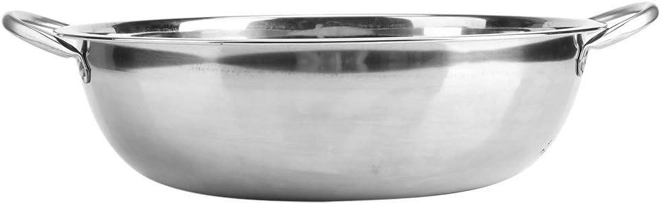 LIUSHI Pot Chaud à Soupe en Acier Inoxydable 30CM Cuiseur à Induction Cuisine à Domicile Ustensiles de Cuisine Pots de Cuisson à Soupe pour la Cuisine à Domicile (30cm) 30cm