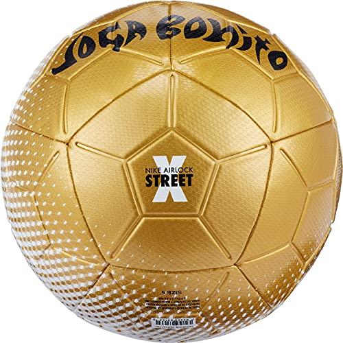 Nike Airlock Street X Yoga Ball DD7131-100 Size 5 White/Gold/Black