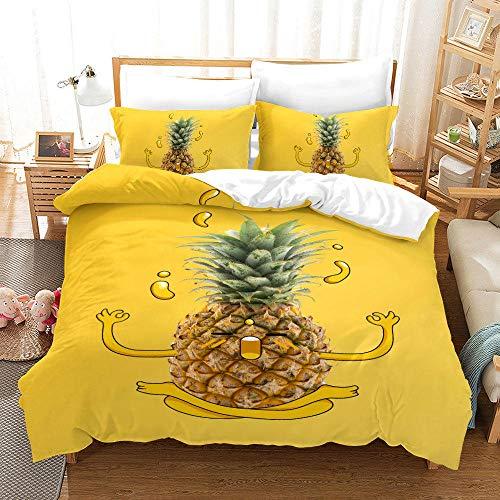 Bedclothes-Blanket Juegos de Fundas para edredón,SQUET Tres Piezas 3D ESTÉREO Digital IMPRIMIENTA DE Digital DE Fuerte DESPUÉS-2_140 * 200