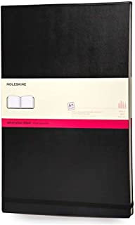 Moleskine FOLIO Notebook, Cold Press Watercolor Paper, 60 pages, A3 or A4 size - 8.5 x 11.75 (A4)