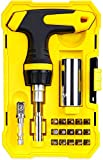 Universal Socket Tools Gifts for Men - Magnetic Ratchet Screwdriver Set with Power Drill Adapter, Super Universal Socket Grip Cool Gadgets for Men Women, Father/Dad, Husband, Boyfriend, Him