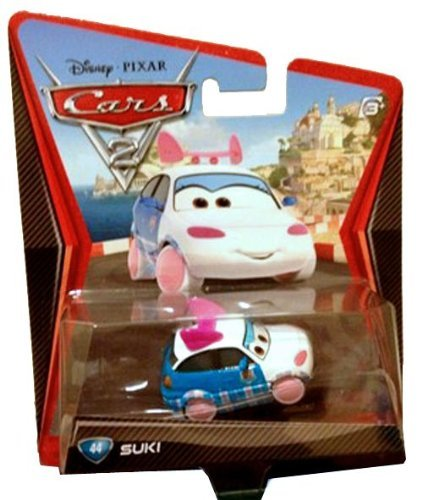 Disney Pixar Cars 2 Suki # 44 - Voiture Miniature Echelle 1:55
