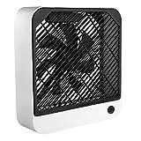 Eaarliyam Ventilador de Mesa Cuadrado, Mini Ventiladores eléctricos Recargables adjuntos de refrigerador de Aire Fan de enfriamiento