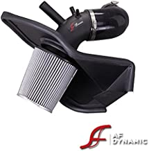 R&L Racing AF Dynamic Black Air Filter Intake Systems + Heat Shield 2013-2014 for Hyundai Genesis Coupe 2.0T 2.0 Turbo