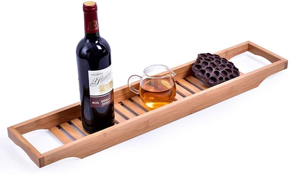 ZKS-KS Bathroom Shelf Bathtub Tray Bamboo Rack Bath Financial sales sale Over Tidy B National products