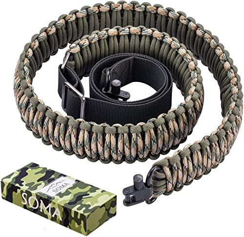 SOMA Rifle Sling 550 Paracord 2 Point Gun Slings Adjustable