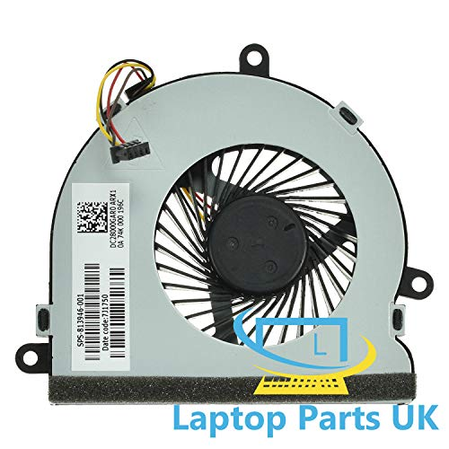 CPU Cooling Fan compatible with Hp 15-ba 15-ba000 15-ba100 15z-ba Laptop Spare Replacement Part